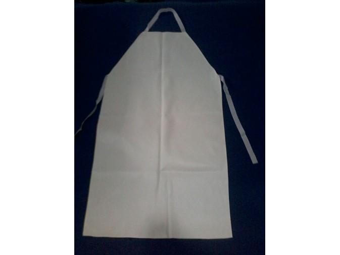 Avental de PVC Branco